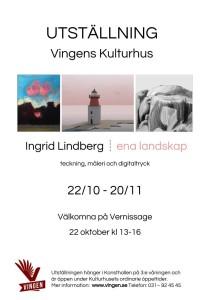 Affisch utställning A3